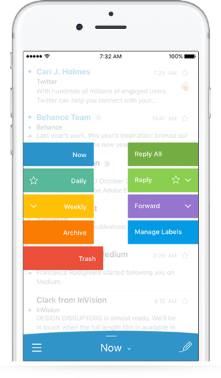 EmailApp Screen